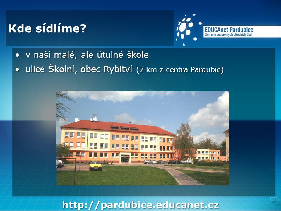 Několik detailů •naše škola byla založena v roce 1992 a byla první soukromou střední školou v pardubickém regionu •od 1.