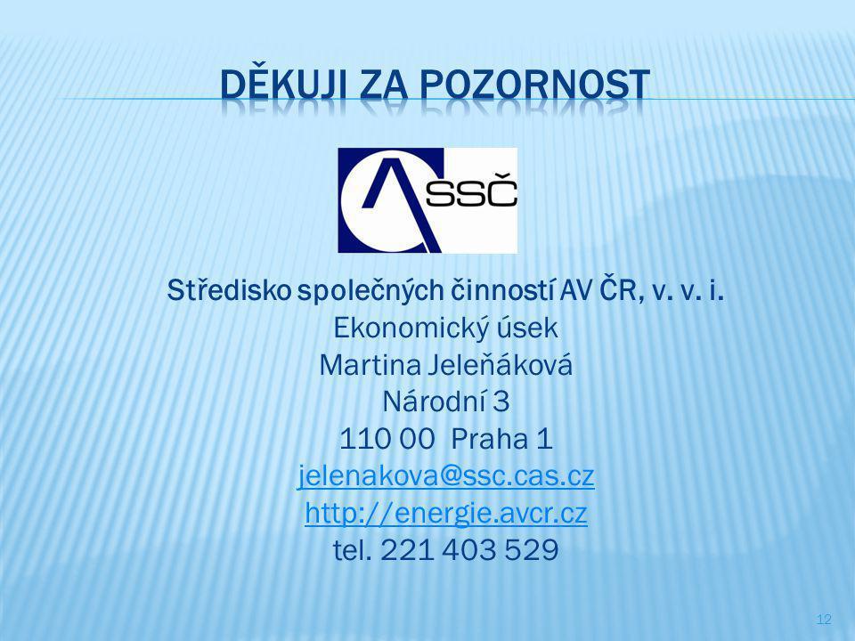 Středisko společných činností AV ČR, v.v. i.