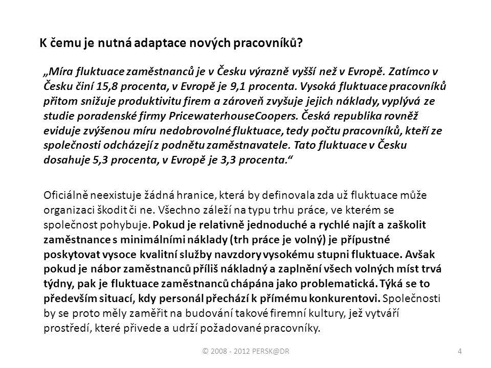 Konec hlavní části prezentace Děkujeme za pozornost. 35© 2008 - 2012 PERSK@DR