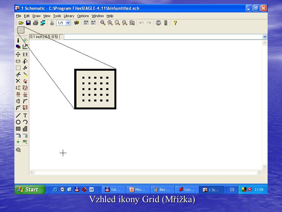 Vzhled ikony Grid (Mřížka)