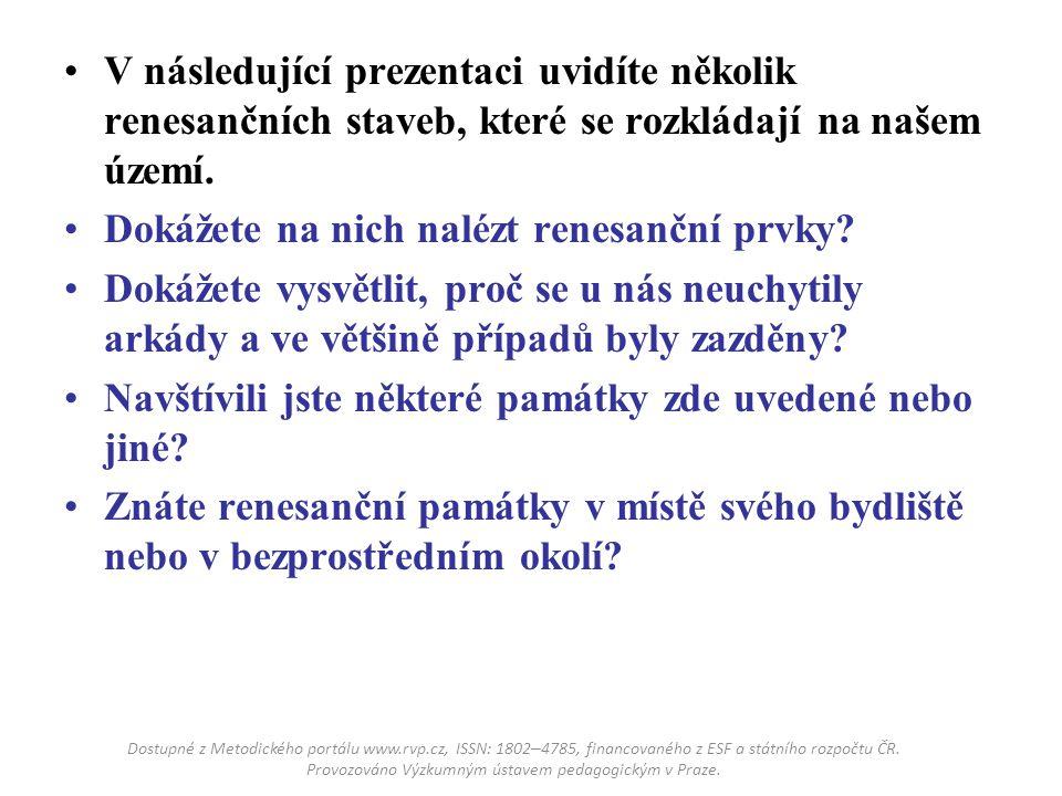 ← sgrafito arkády → Foto: Jiří Honomichl ©