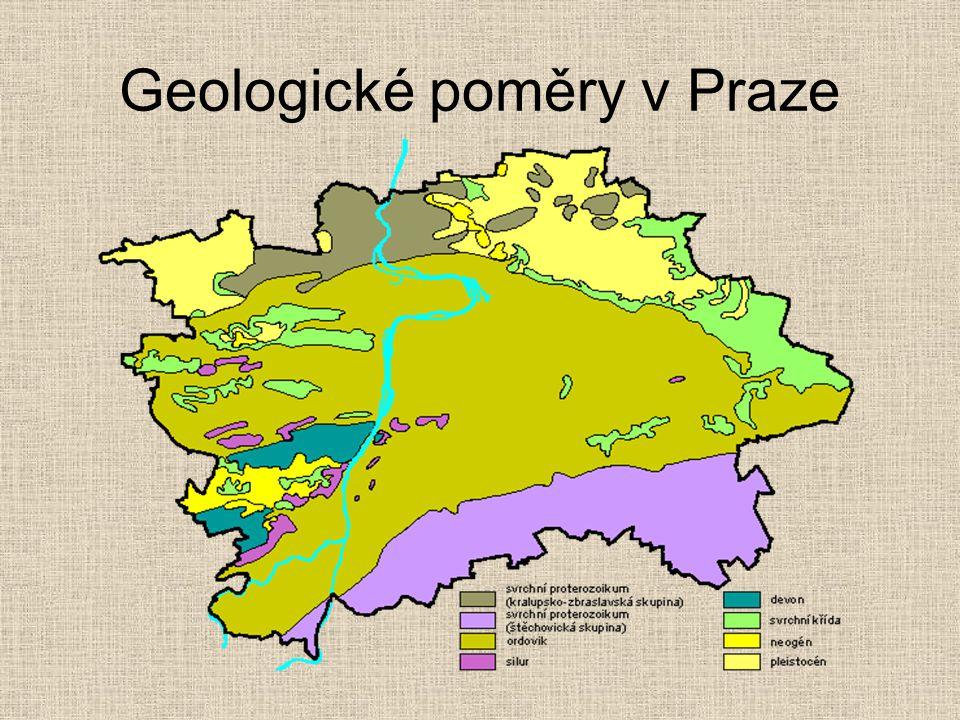 Geologické poměry v Praze