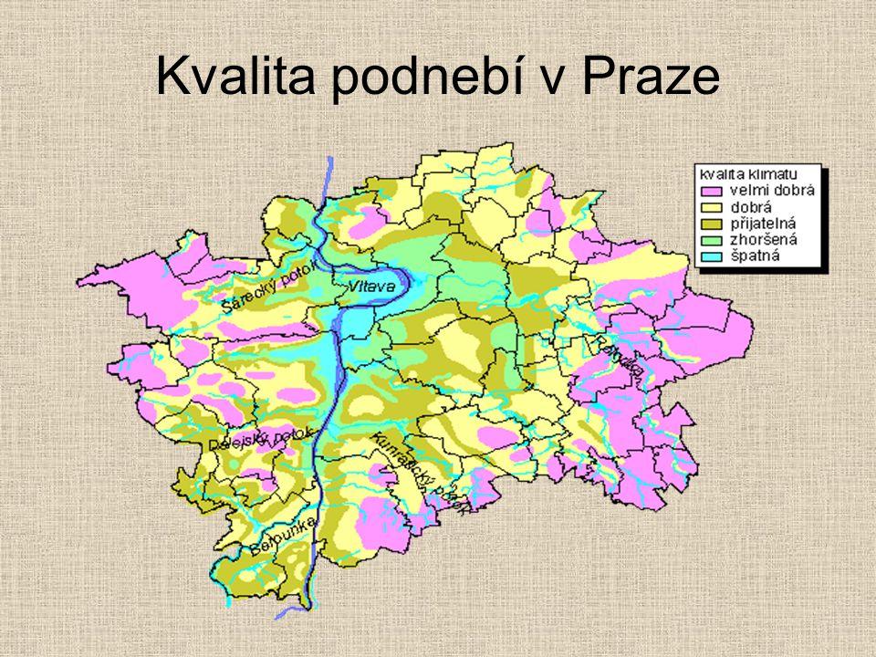 Kvalita podnebí v Praze