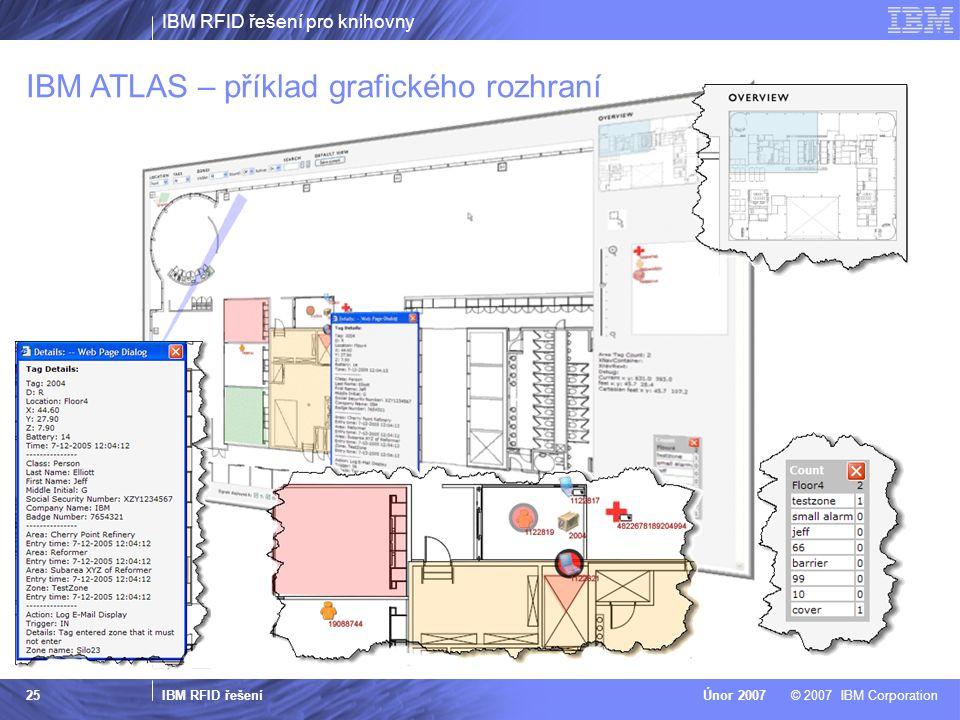 IBM RFID řešení pro knihovny IBM RFID řešení © 2007 IBM CorporationÚnor 2007 25 Ref.