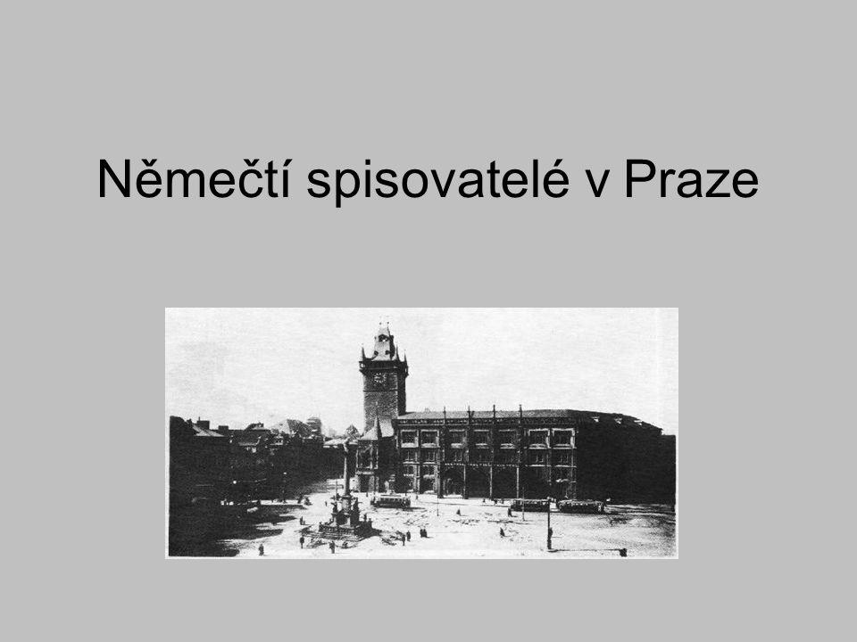 Němečtí spisovatelé v Praze