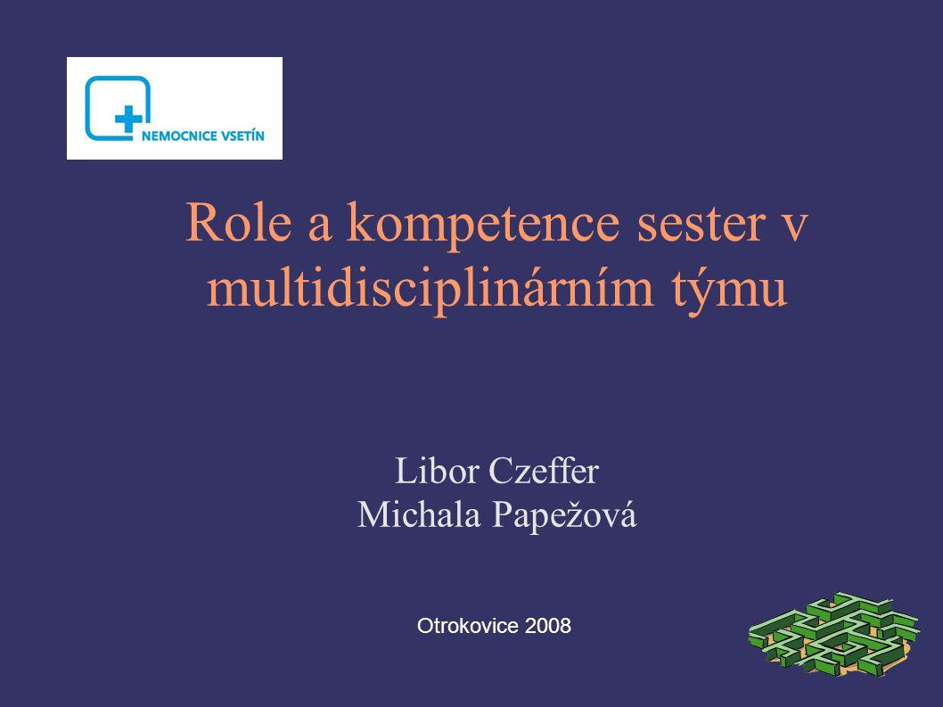 Role a kompetence sester v multidisciplinárním týmu Libor Czeffer Michala Papežová Otrokovice 2008