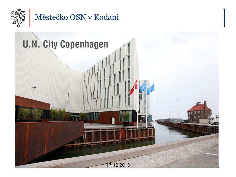Městečko OSN v Kodani 17.12.2013