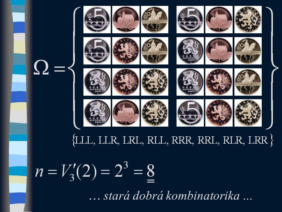 … stará dobrá kombinatorika …