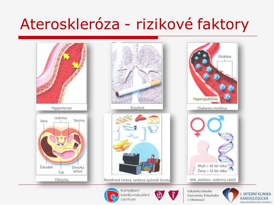 Ateroskleróza - rizikové faktory