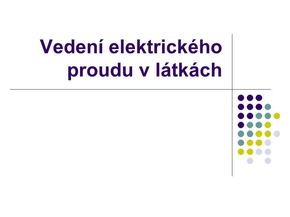 Zopakuj  Elektrické vodiče  Elektrické izolanty  Jak poznáme, že obvodem prochází el. proud?