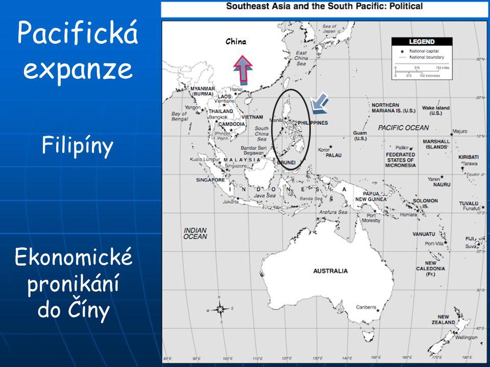 Pacifická expanze China Filipíny Ekonomické pronikání do Číny