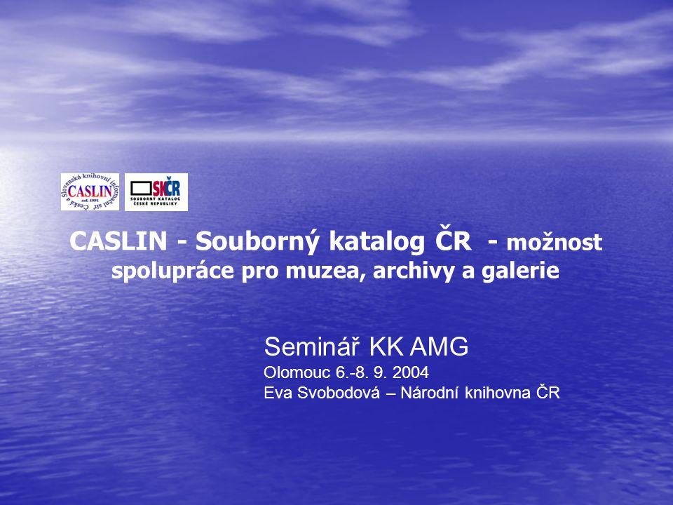 Seminář KK AMG Olomouc 6.-8.9.
