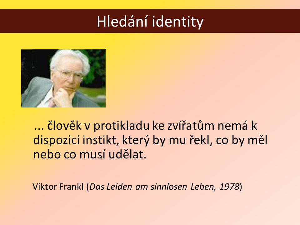 Hledání identity...