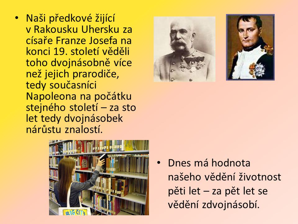 • Naši předkové žijící v Rakousku Uhersku za císaře Franze Josefa na konci 19.