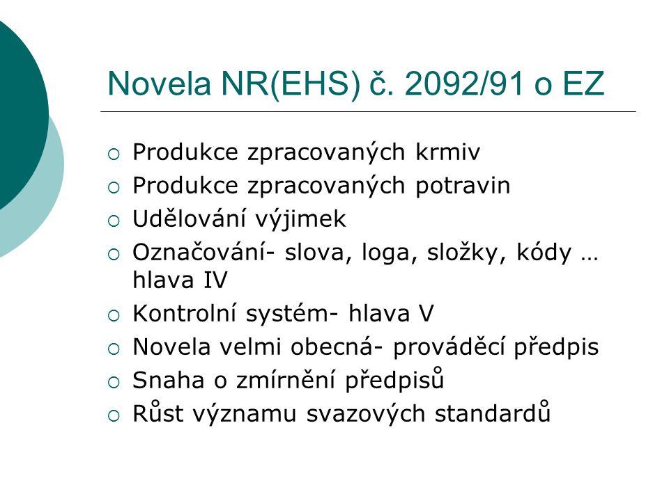 Novela NR(EHS) č.