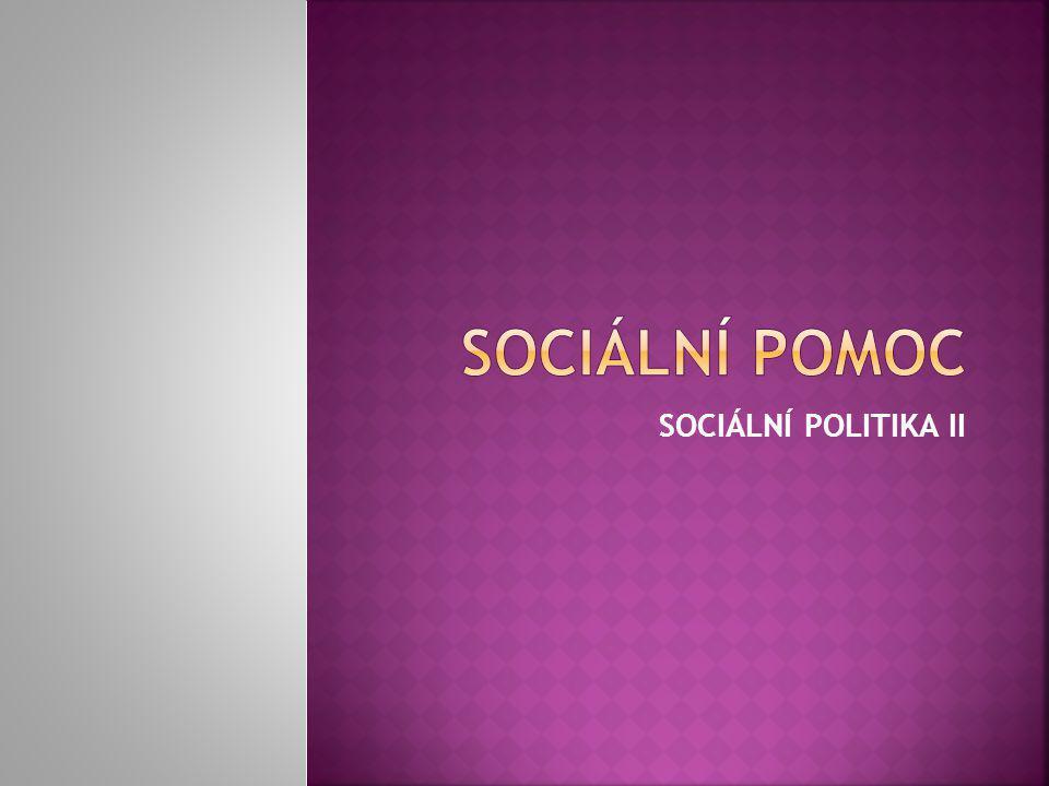 SOCIÁLNÍ POLITIKA II
