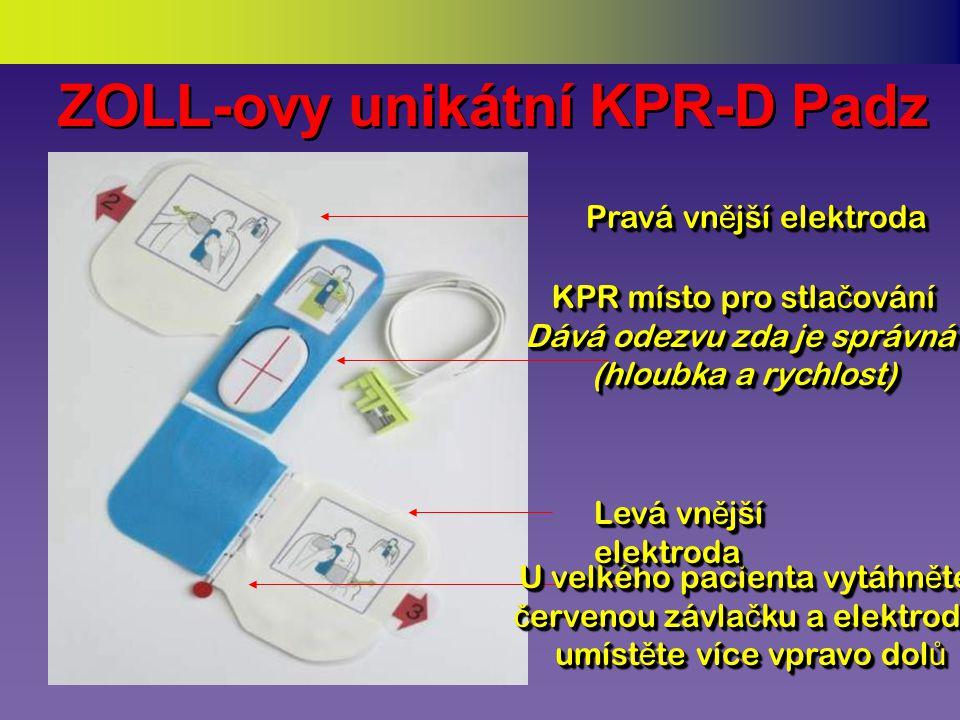 Umístit elektrodové polštářky