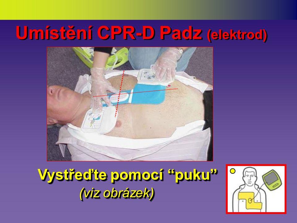 Vyjm ě te CPR-D Padz Rozlo ž te CPR-D Padz Rozbalte CPR-D PADZ (jednorázové elektrody) (jednorázové elektrody) Rozbalte CPR-D PADZ (jednorázové elektrody) (jednorázové elektrody) 1.1.