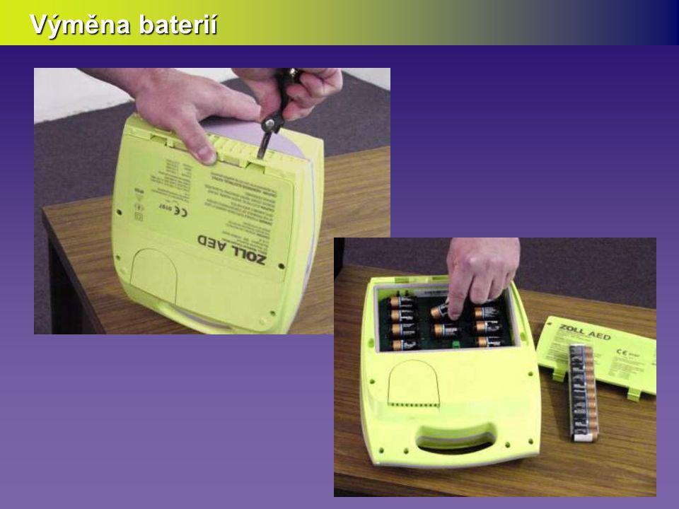 Vrátit AED do pohotovosti  Vyčistit skříňku  Vyčistit AED Plus  Vyměnit baterie (je-li to nutné)  Doplnit elektrody CPR-D Padz  Složit a uložit přístroj  Vyčistit skříňku  Vyčistit AED Plus  Vyměnit baterie (je-li to nutné)  Doplnit elektrody CPR-D Padz  Složit a uložit přístroj PostupPostup