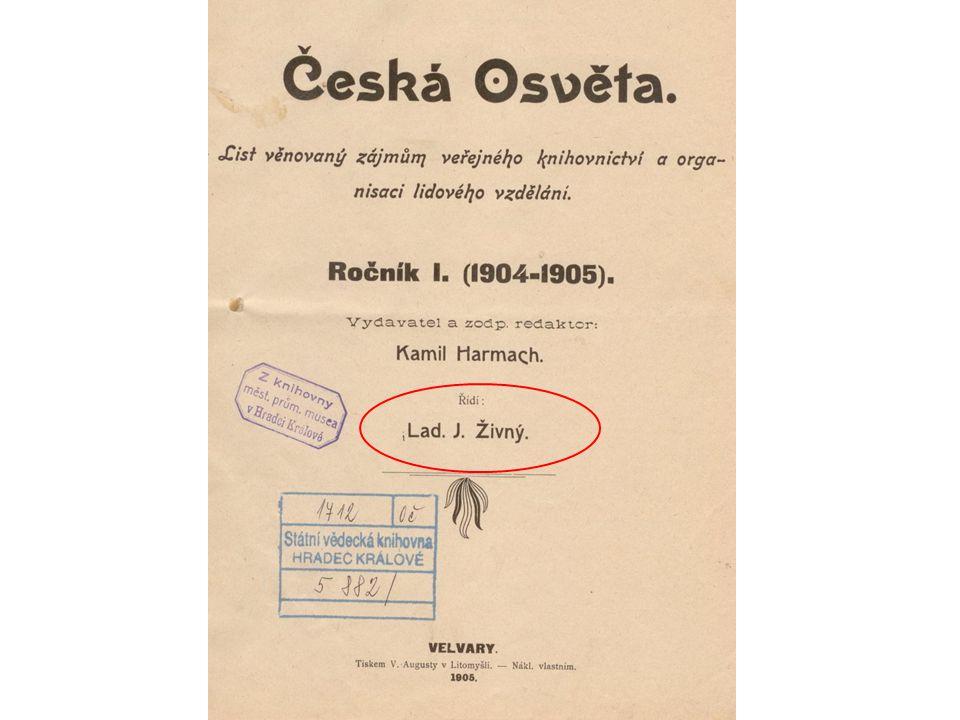 Česká bibliografie 19./20.st.
