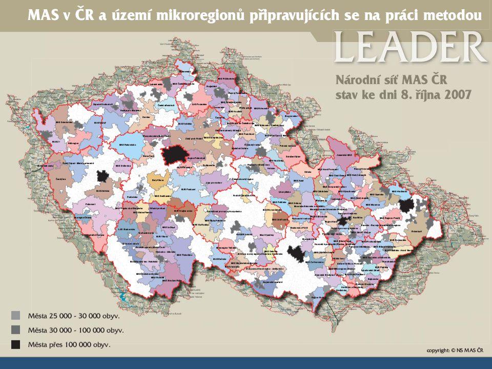 situace MAS v České republice
