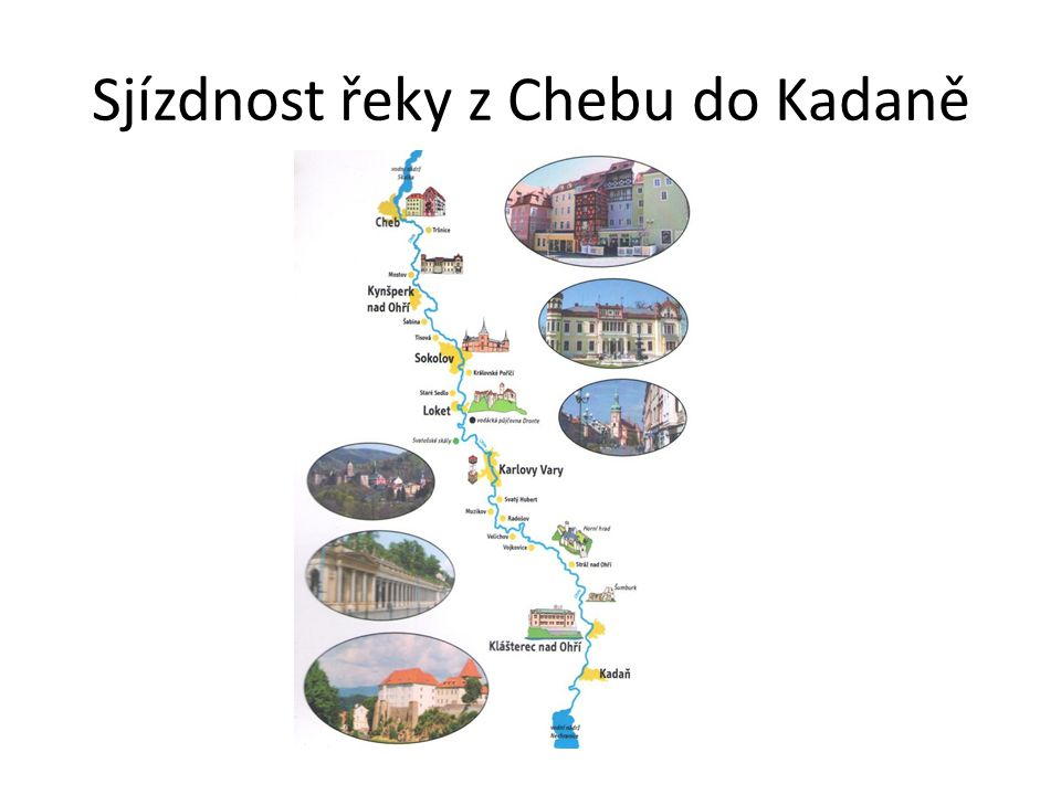 Sjízdnost řeky z Chebu do Kadaně