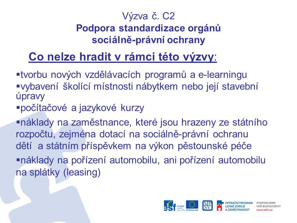 Kde hledat informace •Webový portál ESF v ČR www.esfcr.cz www.esfcr.cz –výzvy –aktuality –semináře –dokumenty (Desatero příruček) –realizované projekty –upozornění na odstávky aplikace •ESF Fórum https://forum.esfcr.cz/node/discussion.php?ident =205&1274863724 https://forum.esfcr.cz/node/discussion.php?ident =205&1274863724 –Dotazy elektronickou cestou prostřednictvím zřízeného klubu