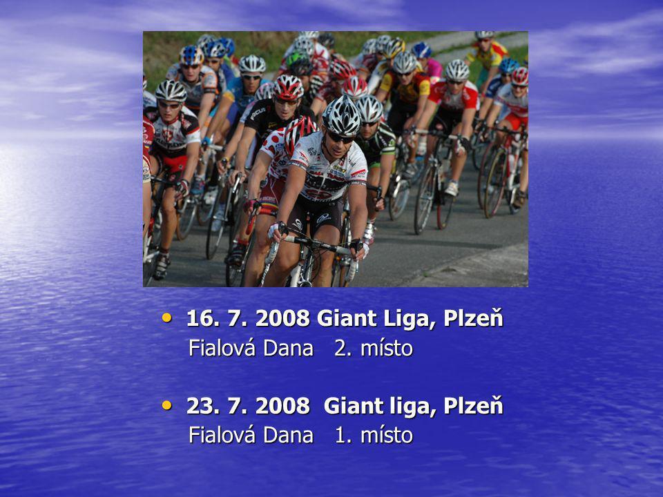 • 16.7. 2008 Giant Liga, Plzeň Fialová Dana 2. místo Fialová Dana 2.