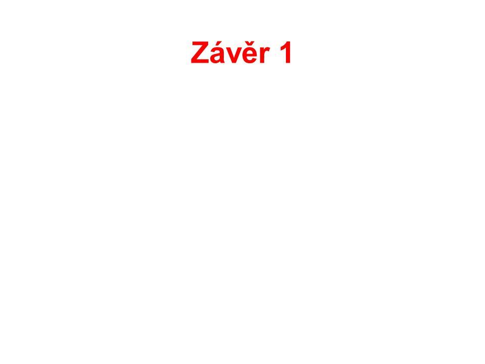 Závěr 1