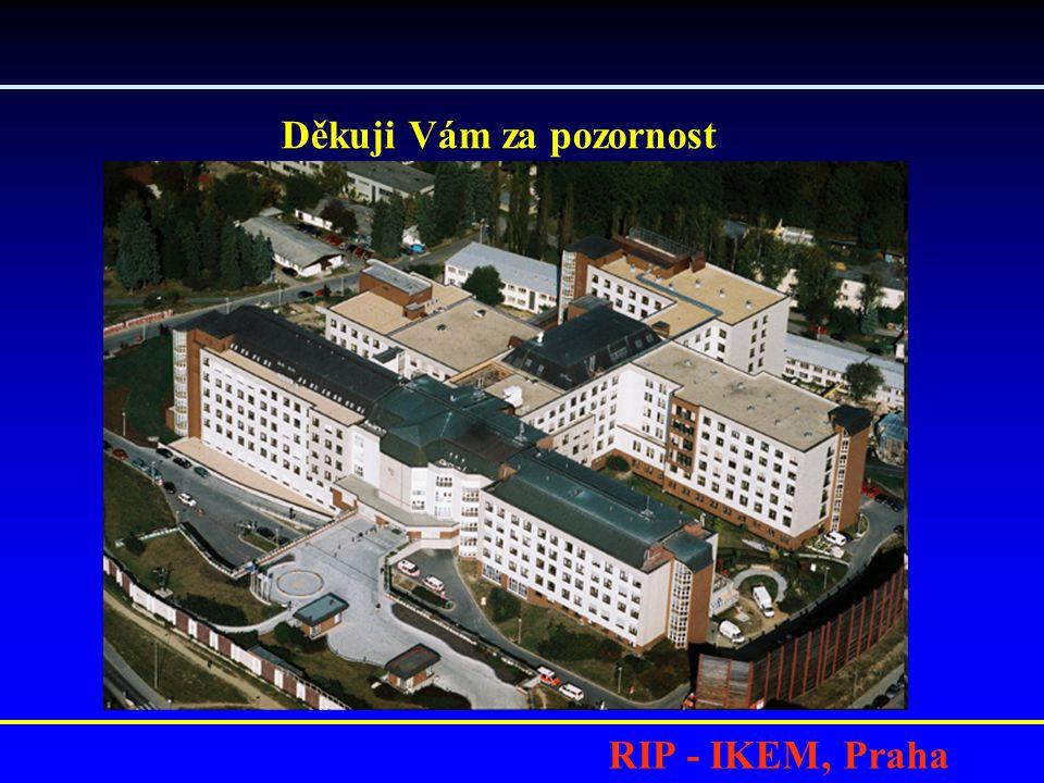 RIP - IKEM, Praha Děkuji Vám za pozornost