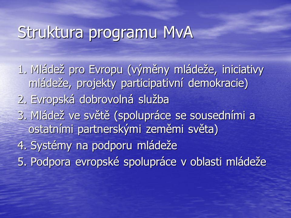 Struktura programu MvA 1.