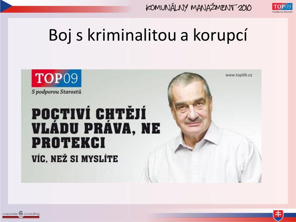 Boj s kriminalitou a korupcí