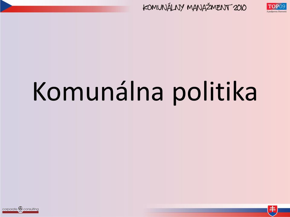 Komunálna politika