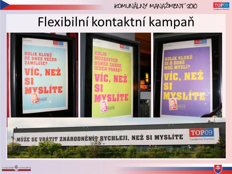Flexibilní kontaktní kampaň
