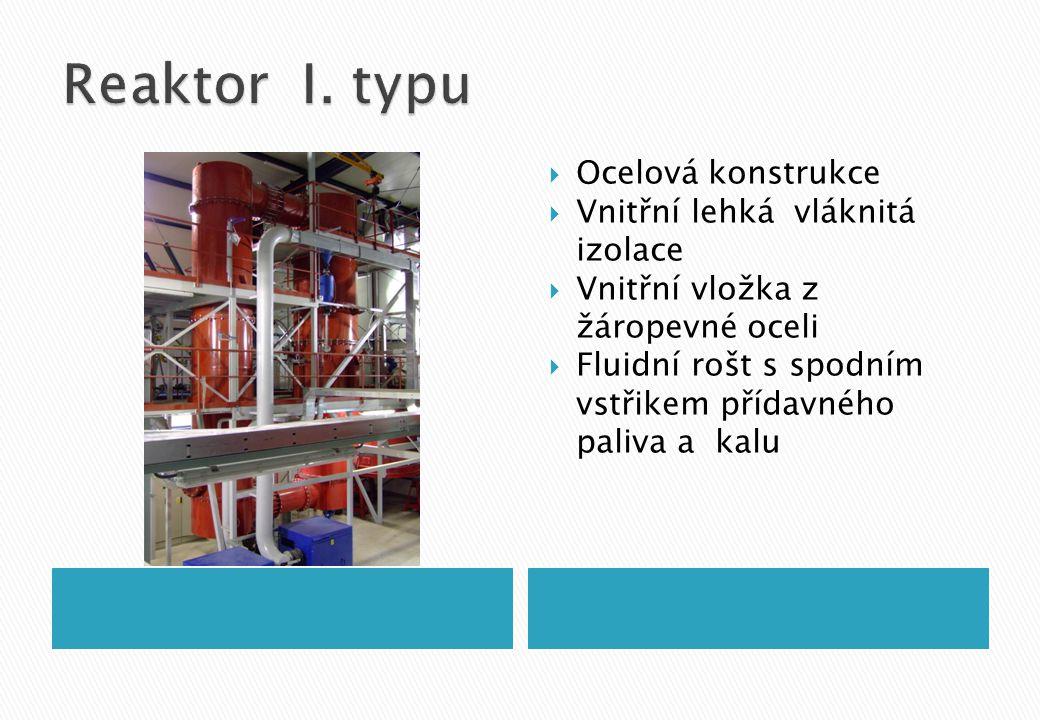  Ocelová konstrukce  Vnitřní lehká vláknitá izolace  Vnitřní vložka z žáropevné oceli  Fluidní rošt s spodním vstřikem přídavného paliva a kalu