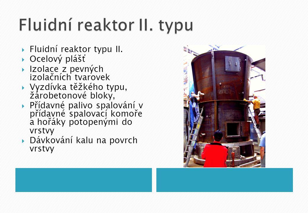  Fluidní reaktor typu II.