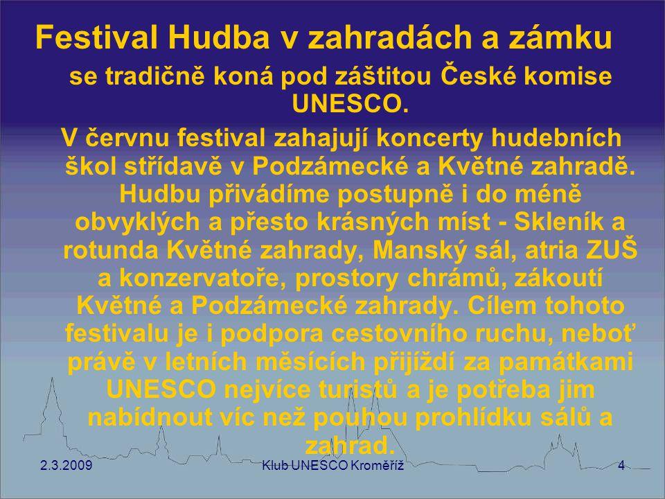 2.3.2009Klub UNESCO Kroměříž5