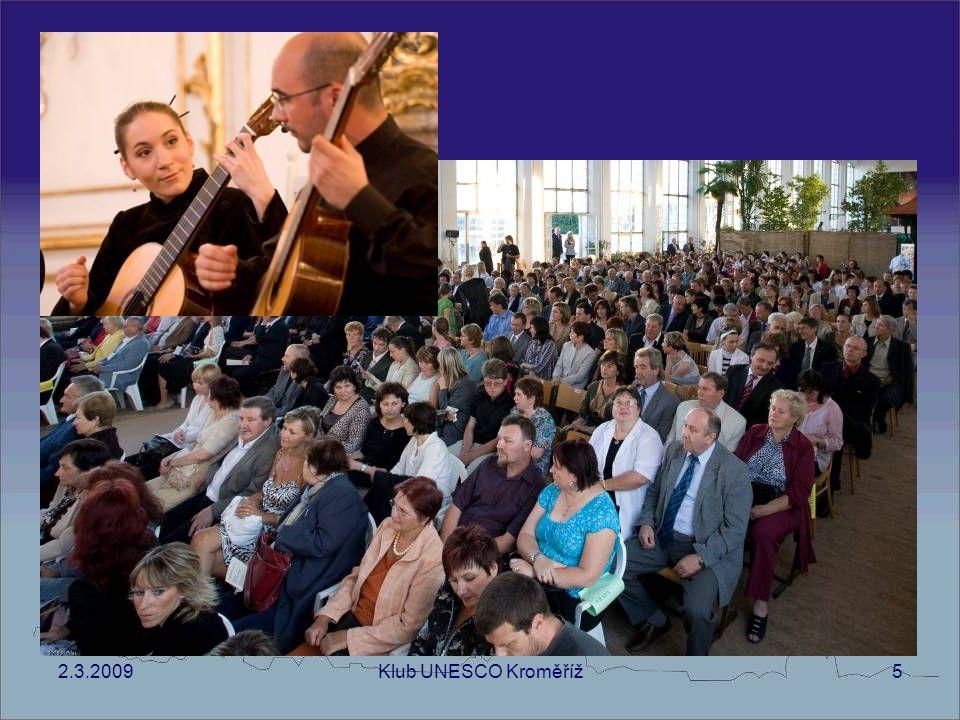 2.3.2009Klub UNESCO Kroměříž6