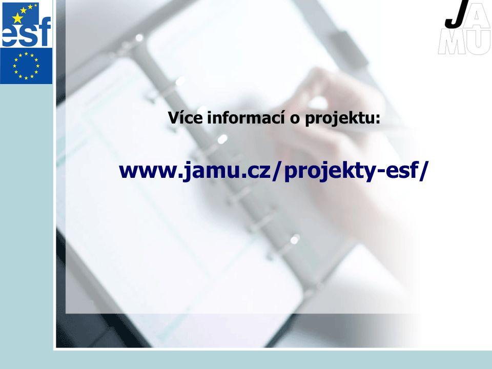 Více informací o projektu: www.jamu.cz/projekty-esf/