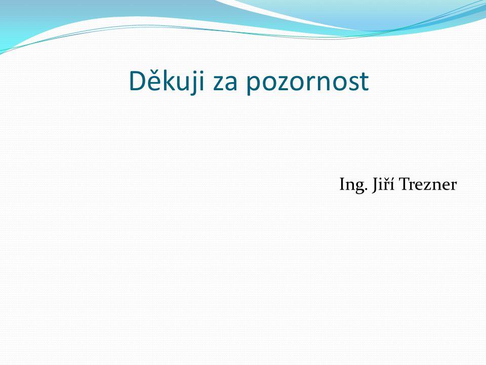 Děkuji za pozornost Ing. Jiří Trezner