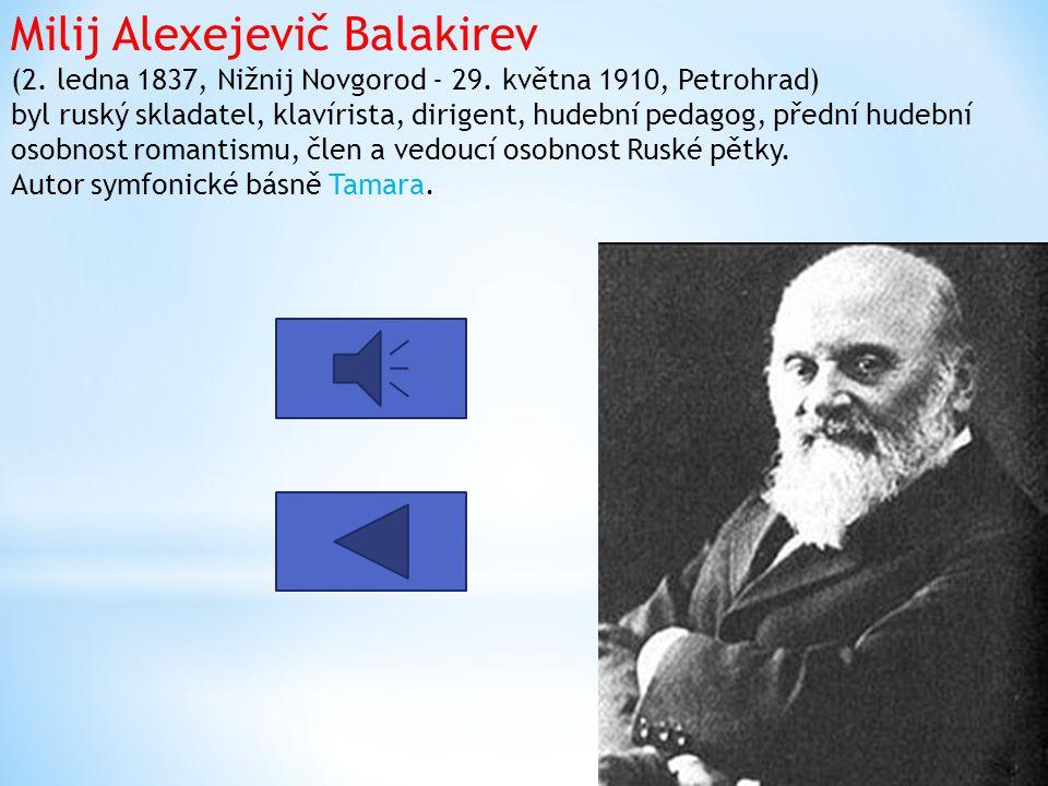 Michail Ivanovič Glinka (1. června 1804, Novospasskoje - 15. února 1857, Berlín) byl první ruský skladatel, který si získal široké uznání v jeho rodné