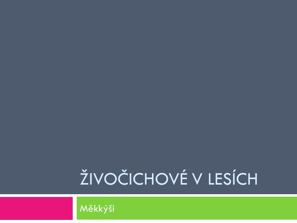 Zdroj informací KVASNIČKOVÁ, L.Ekologický přírodopis 6.