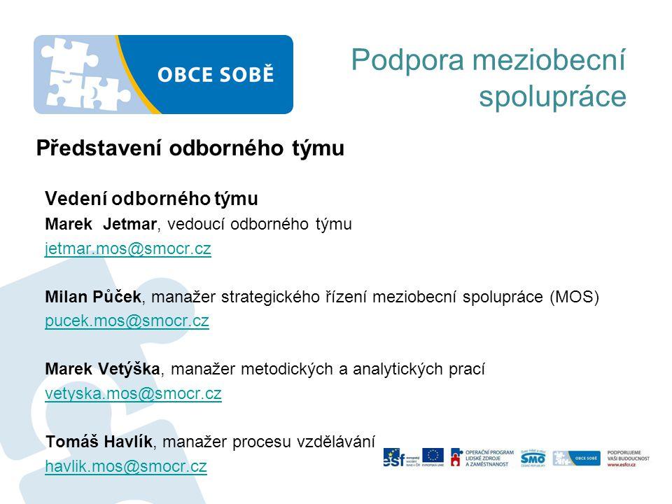 Souběh realizace projektu a přípravy kohezní politiky EU 2014+ ROK 2013 10-12/2013 MMR a resorty neformálně jednají s Evropskou komisí (dále jen EK) Asociace krajů a Svaz jednají o regionální dimenzi 12/2013 - 02/2014 Vlády schválí návrhy operačních programů k formálnímu jednání s EK Definice uzemní dimenze (v Dohodě o partnerství – základ pro vyjednávání s EK) Komentování a doplnění metodik podle potřeby resortní politiky ROK 2014 Jednání mezi EK a ČR Další doplňování metodik dle potřeby Příprava integrovaných nástrojů – ITI (integrovaná územní investice), IPRU (integrovaný plán rozvoje území) Identifikace projektů Příprava a detailní jednání s resorty ROK 2015 Příprava projektů a první výzvy Podpora meziobecní spolupráce