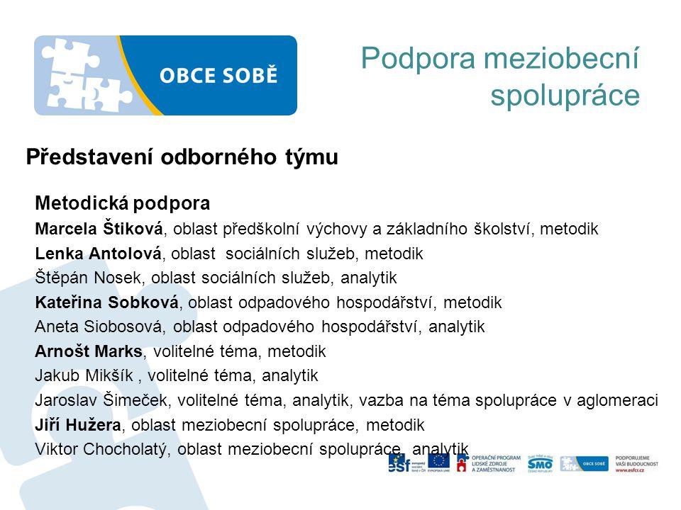 Dotazy, připomínky Děkujeme za pozornost Podpora meziobecní spolupráce