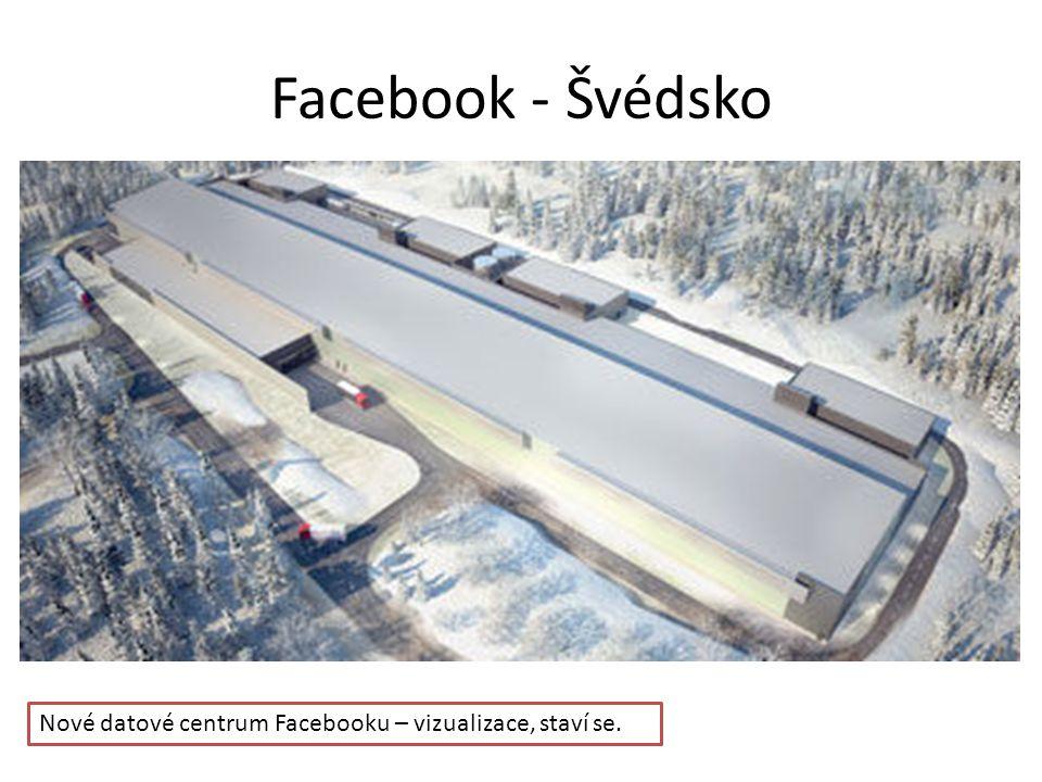 Facebook - Švédsko Nové datové centrum Facebooku – vizualizace, staví se.