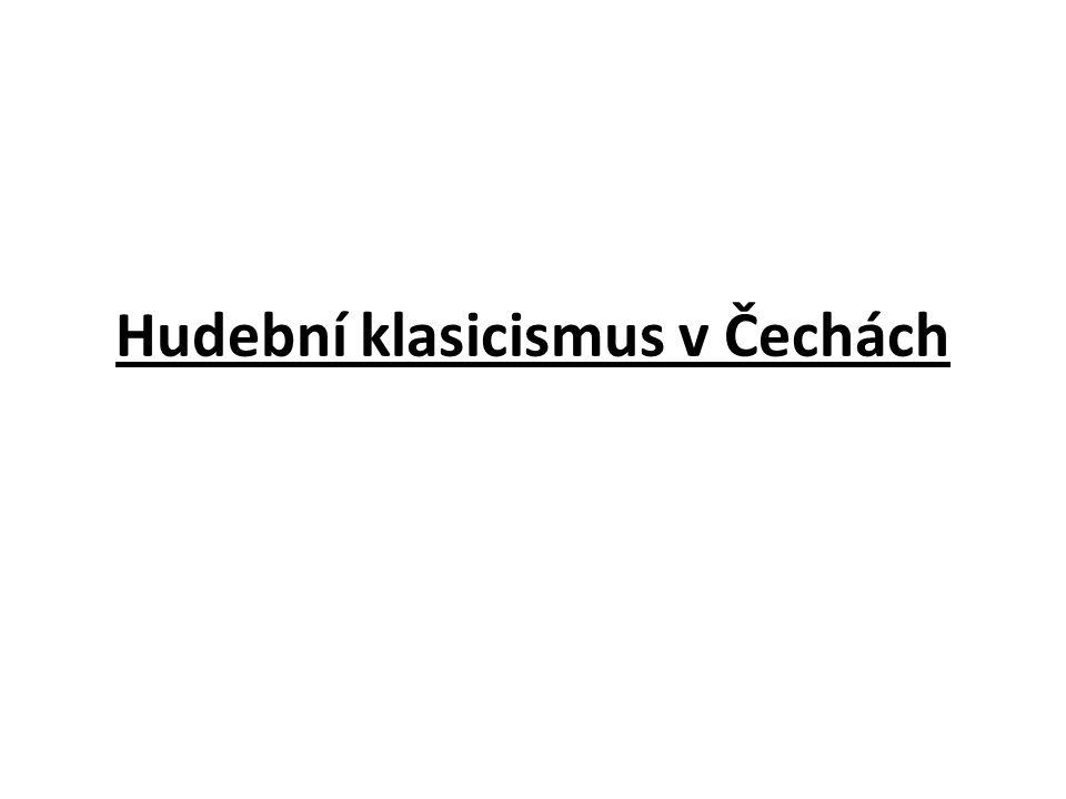 Položíme-li si otázku proč se čeští hudebníci tak úspěšně prosadili v těžké evropské konkurenci, nemusíme zřejmě dlouho hledat odpověď.