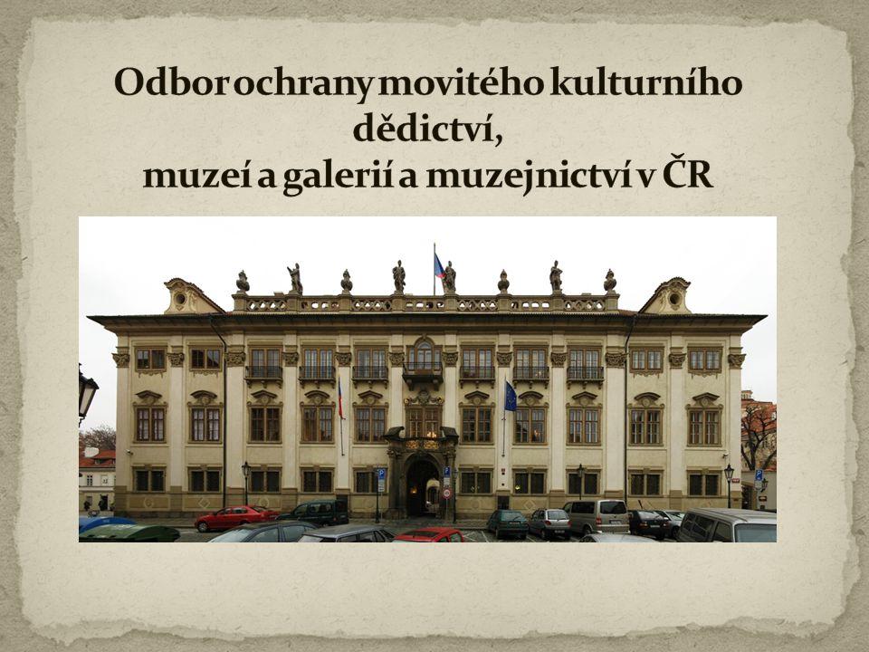  Pro obor muzejnictví bylo v České republice postupně zřízeno při příspěvkových organizacích v působnosti Ministerstva kultury osm specializovaných muzeologicko- metodických pracovišť, která poskytují informace a služby vlastníkům a správcům sbírek muzejní povahy a dalším zájemcům, vydávají metodické pokyny a texty, poskytují konzultace.