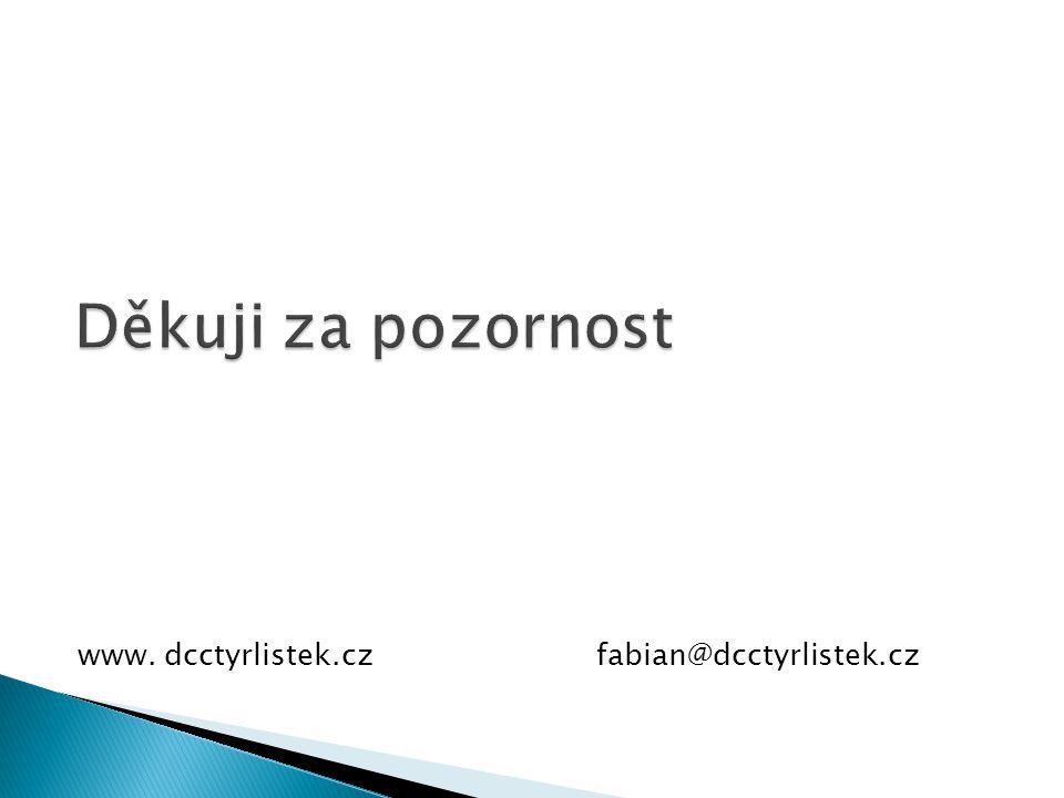 www. dcctyrlistek.czfabian@dcctyrlistek.cz