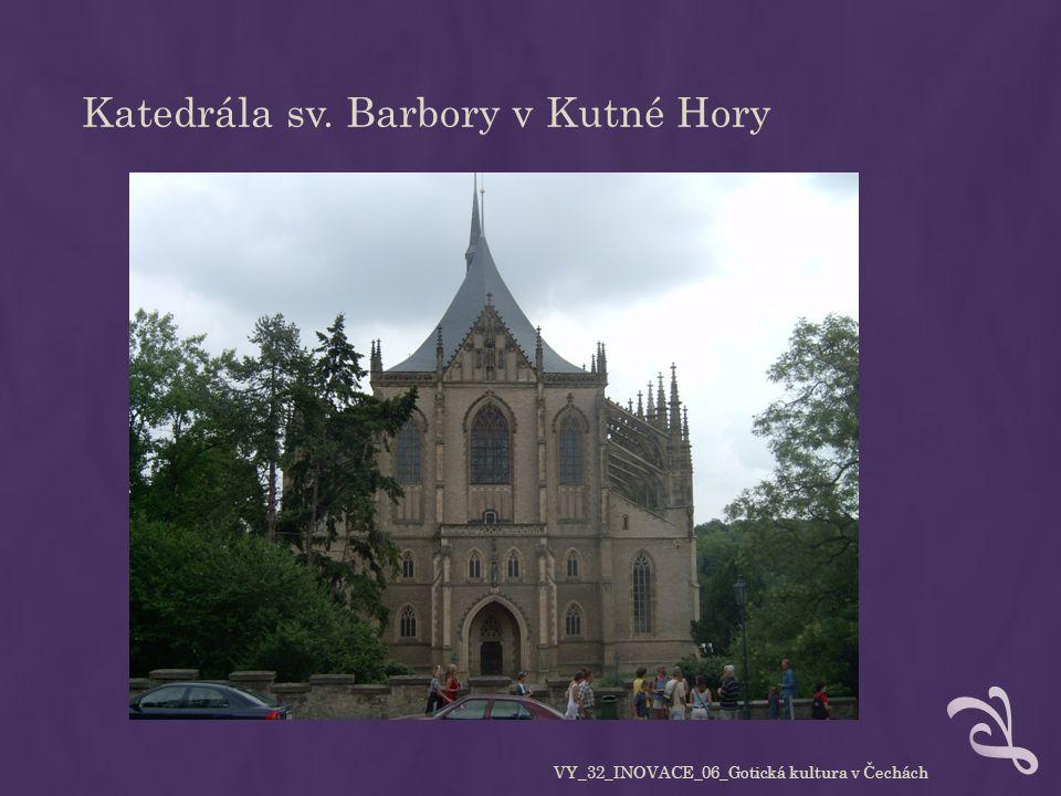STAVEBNÍ PRVKY Gotické stavby jsou mnohem vyšší než stavby románské, opticky působí odhmotněně, symbolizují přiblížení k Bohu.