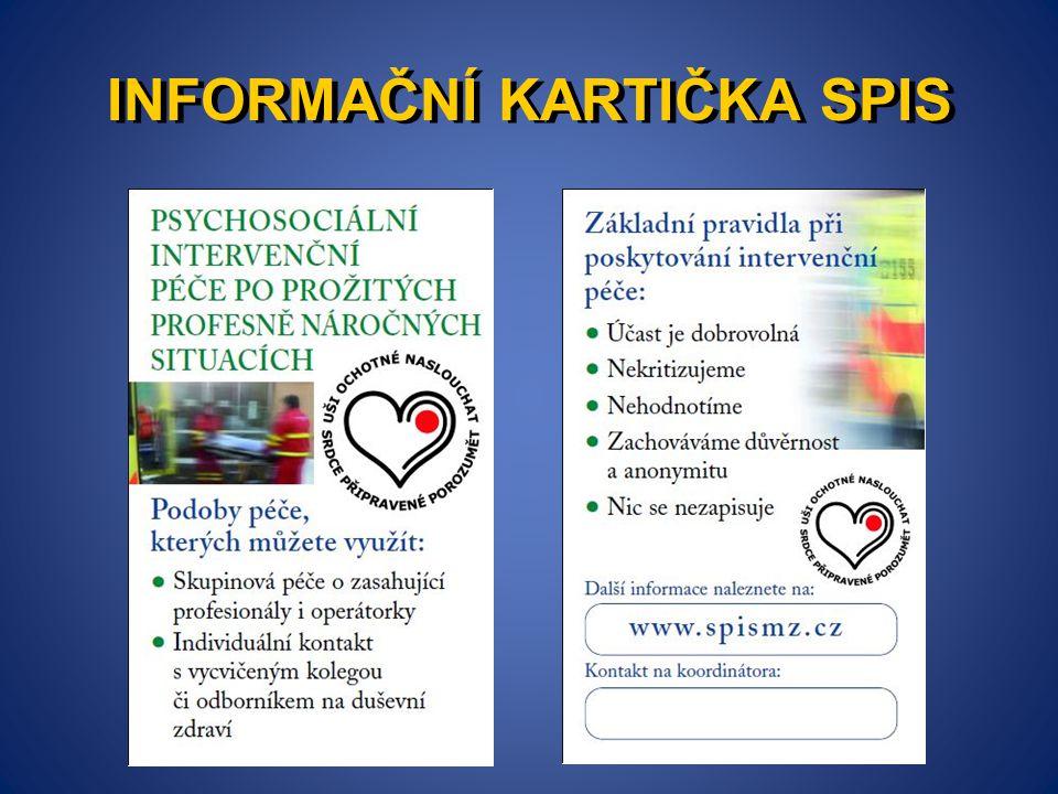 INFORMAČNÍ KARTIČKA SPIS